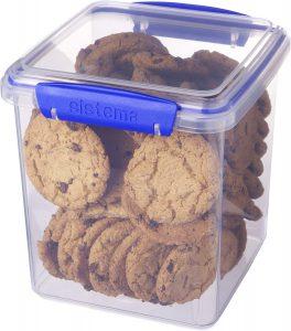 Recipiente para galletas Sistema
