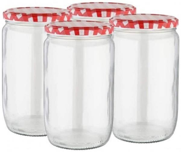 Paquete de 4 vasos de cristal (Marca Viva Haushaltswaren)