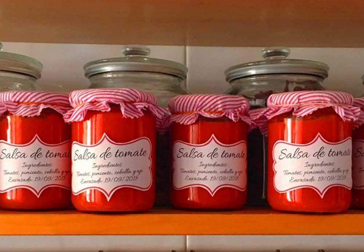 Pack de 46 frascos de vidrio con tapas (Marca Tapas Rioja)